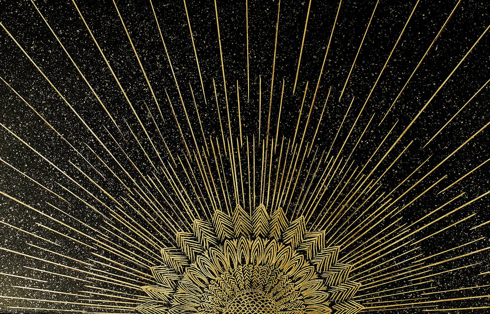 laque d'art, laque d'or, ébénisterie, Atelier Midavaine
