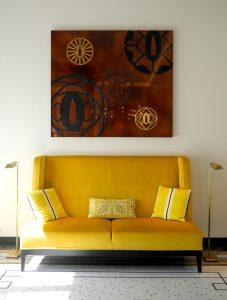Hôtel Tsuba, laque d'art, laque d'or, Atelier Midavaine